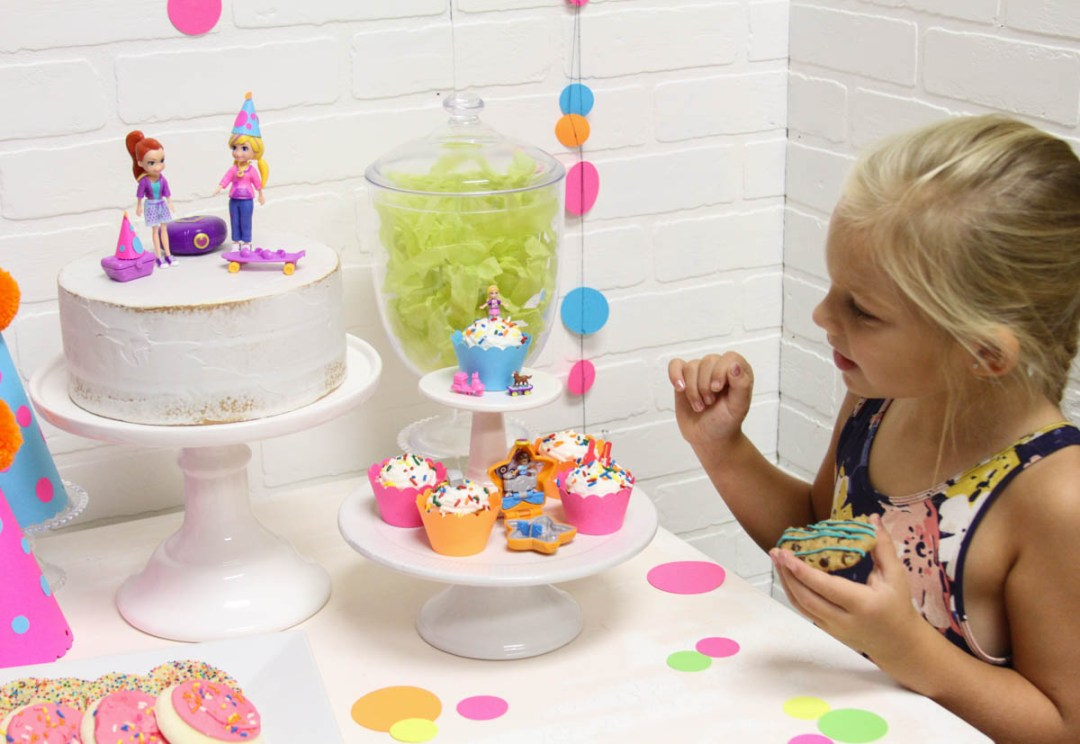 Kids Party Cupcakes and Cake