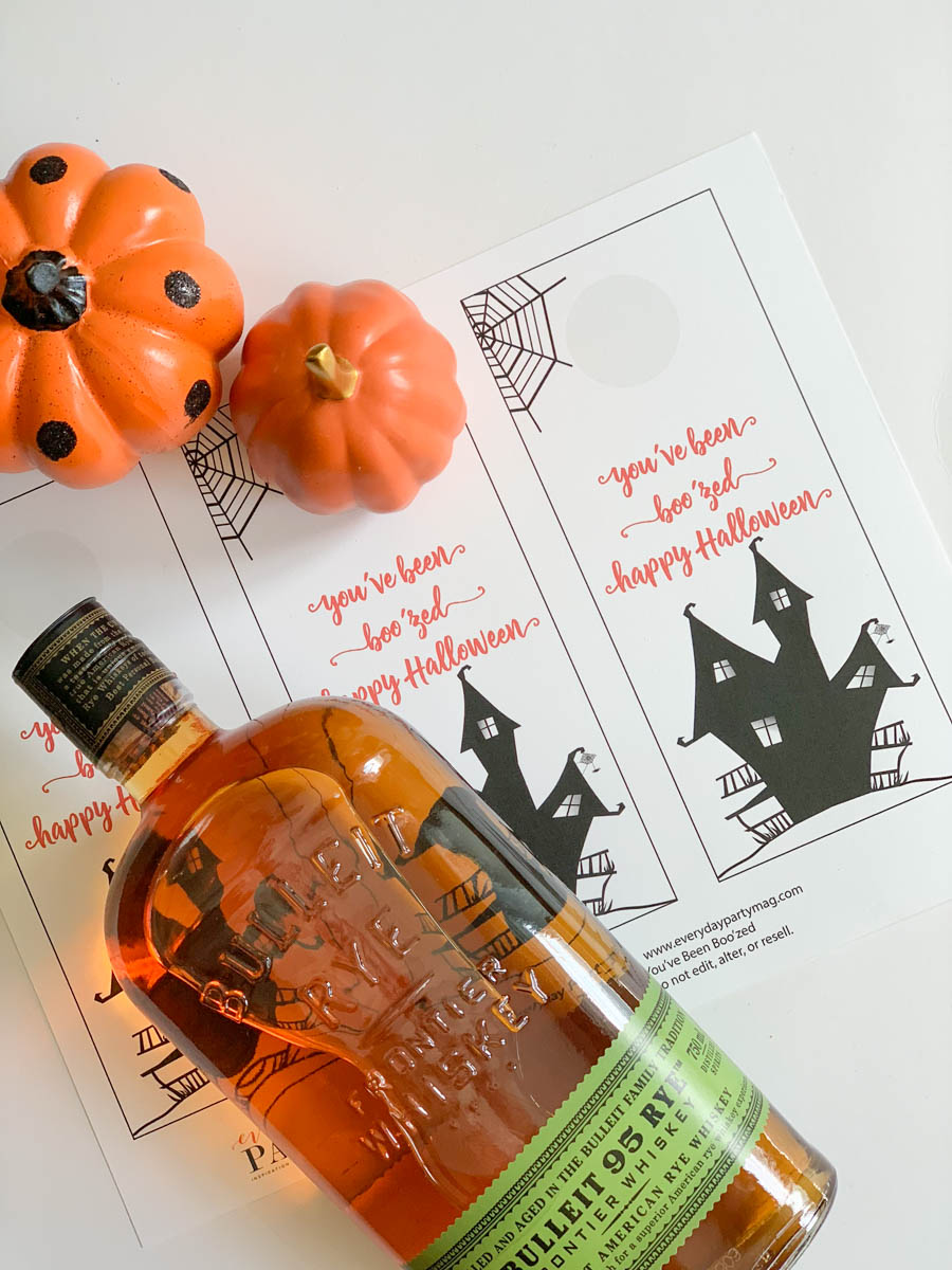 graphic regarding You've Been Boozed Printable referred to as Free of charge Printable Halloween Printables Boozed Tag - Day by day