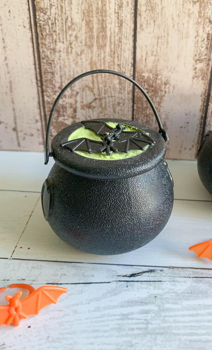 Halloween Cauldron Bath Bomb Halloween Bat Rings