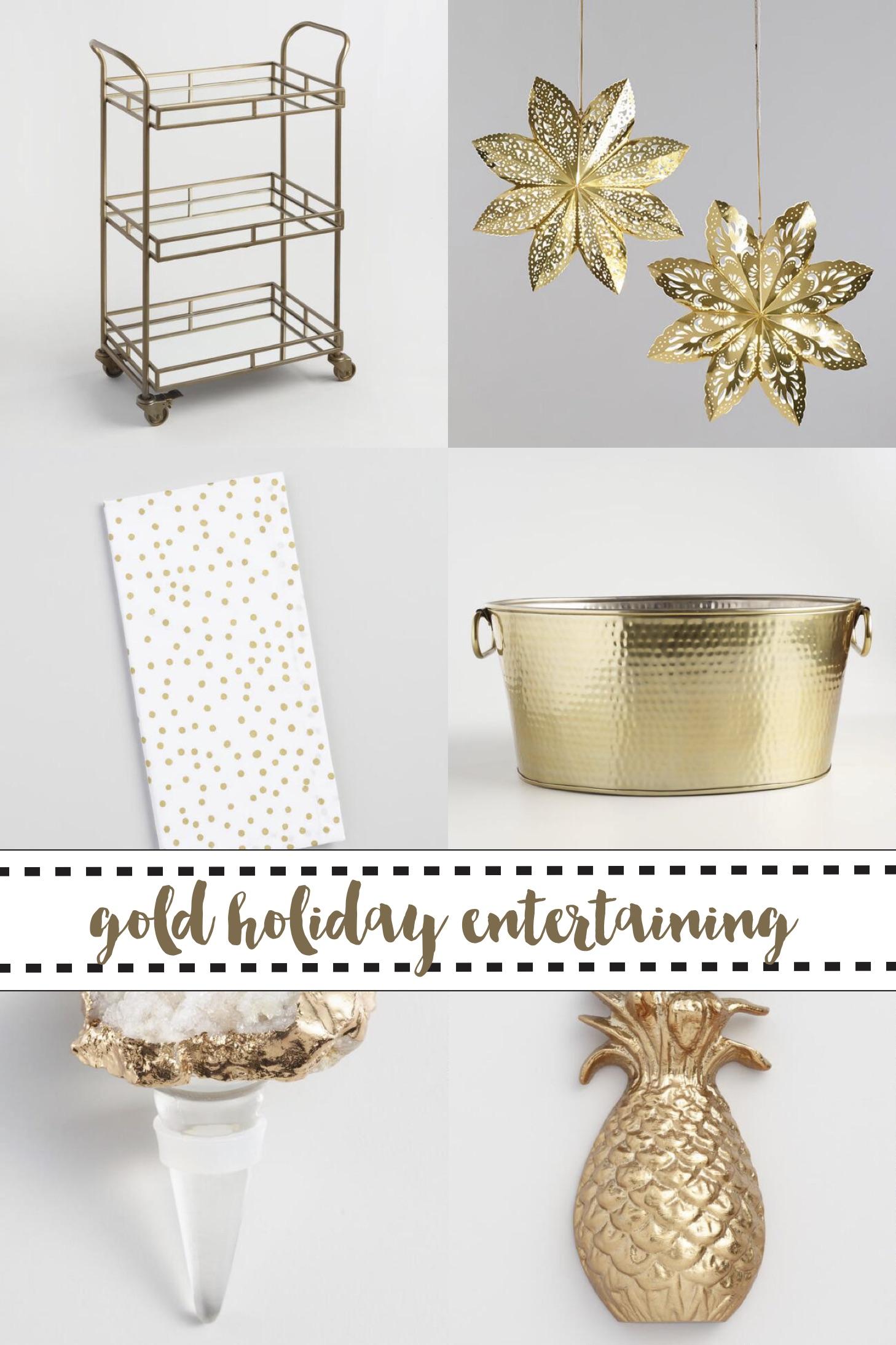 Holiday Entertaining Collage