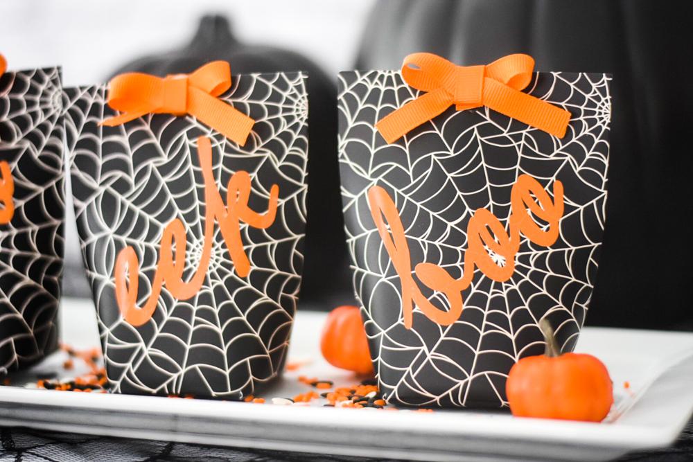 Halloween Favor Boxes