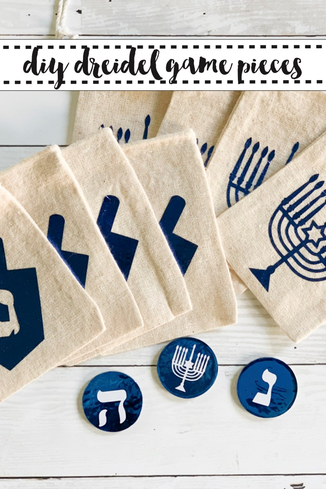 Hanukkah Dreidel Game Pieces