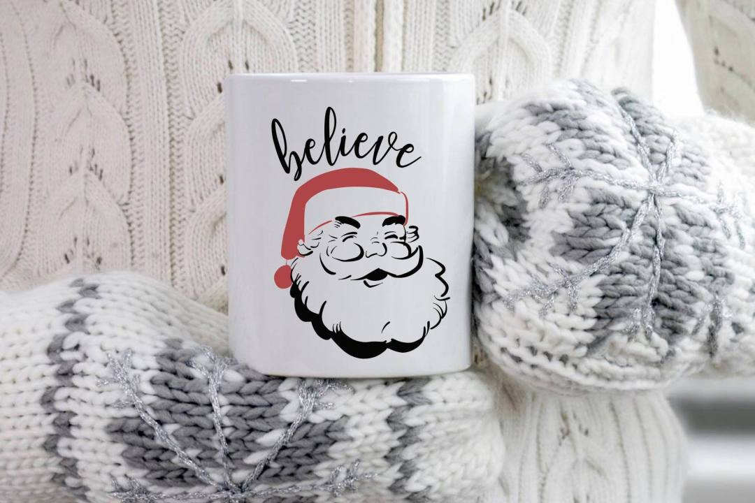 Santa Holiday Mug