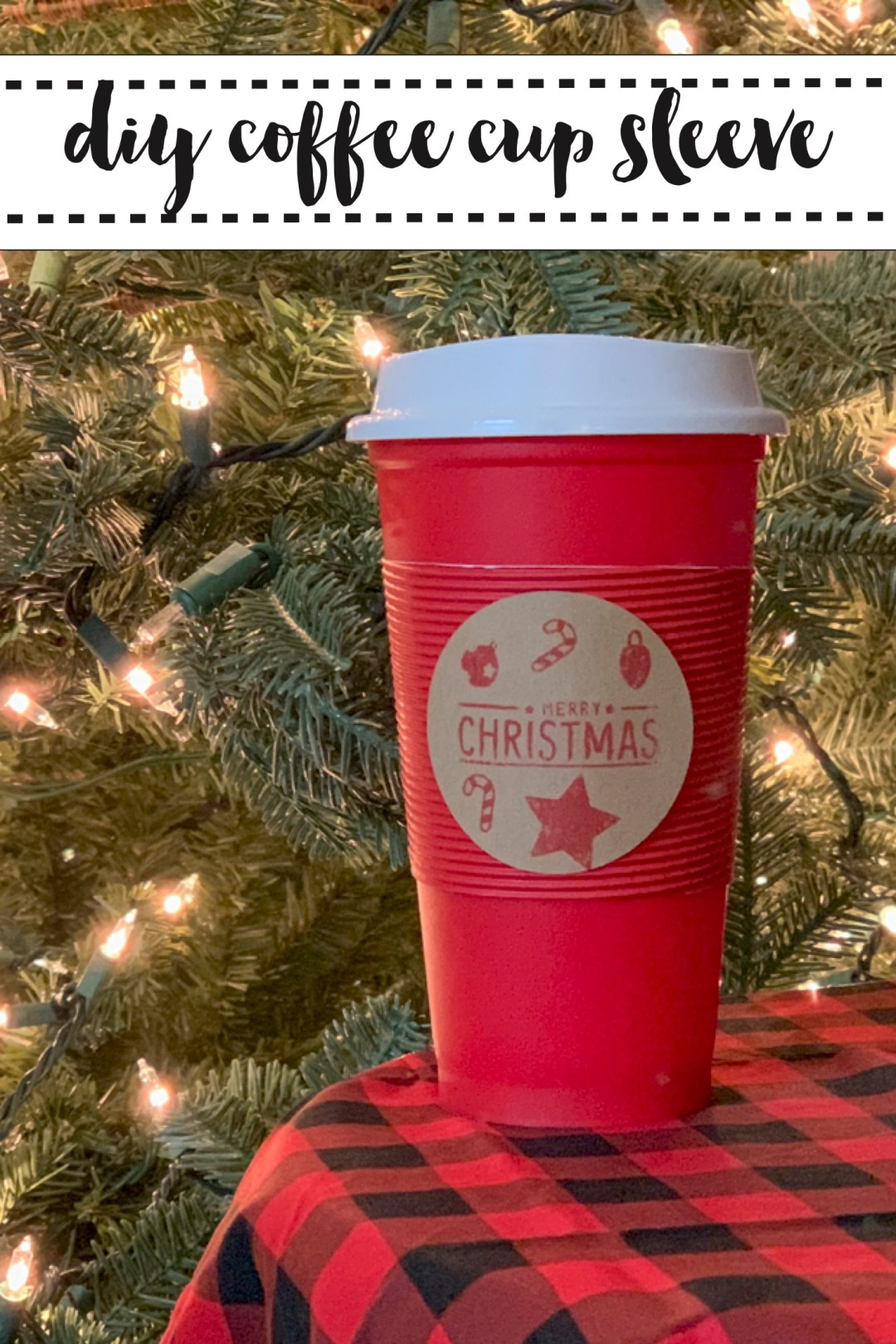 Coffee Cup Christmas Tree