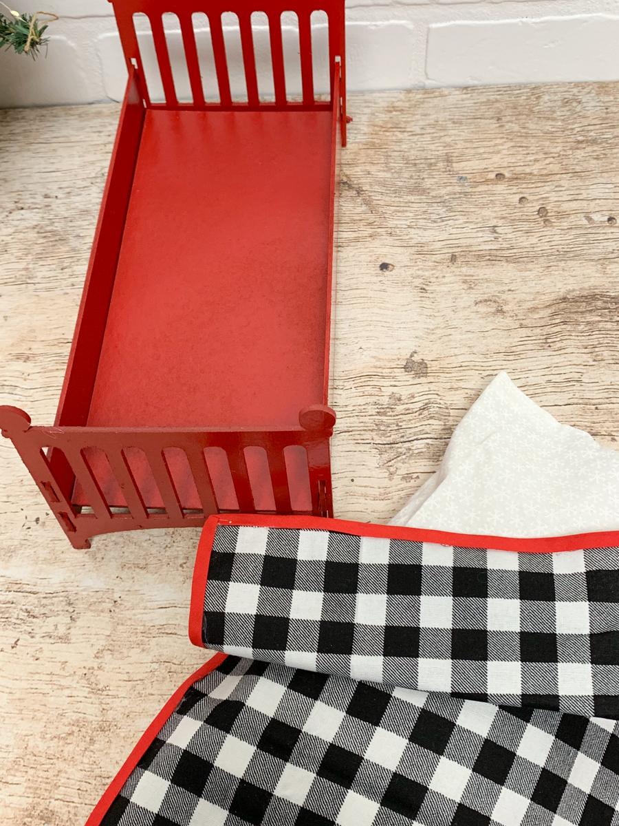 DIY Elf Bed