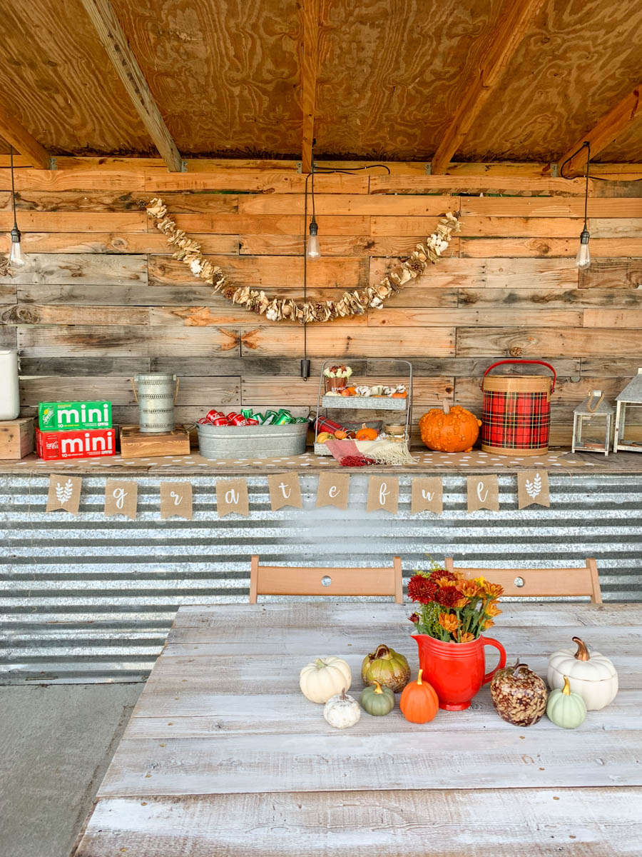 Fall Party Deck