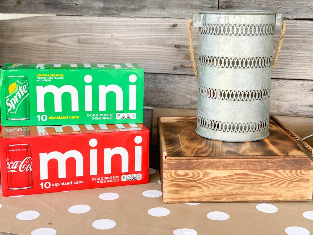 Coca-Cola Mini Cans Sprite Mini Cans Pie Box