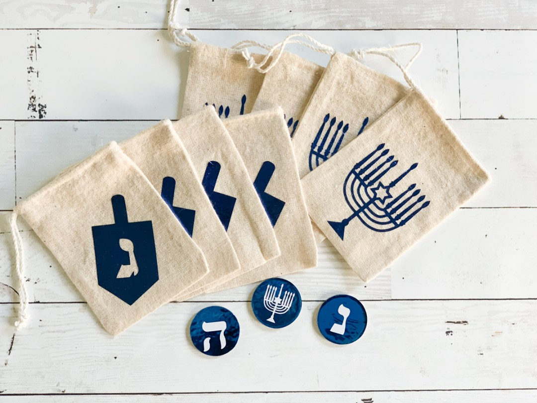 Hanukkah Favor Bags