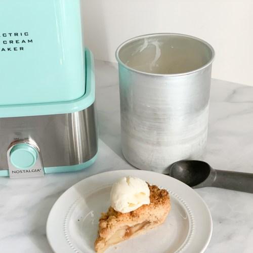 Ice Cream Maker Pie