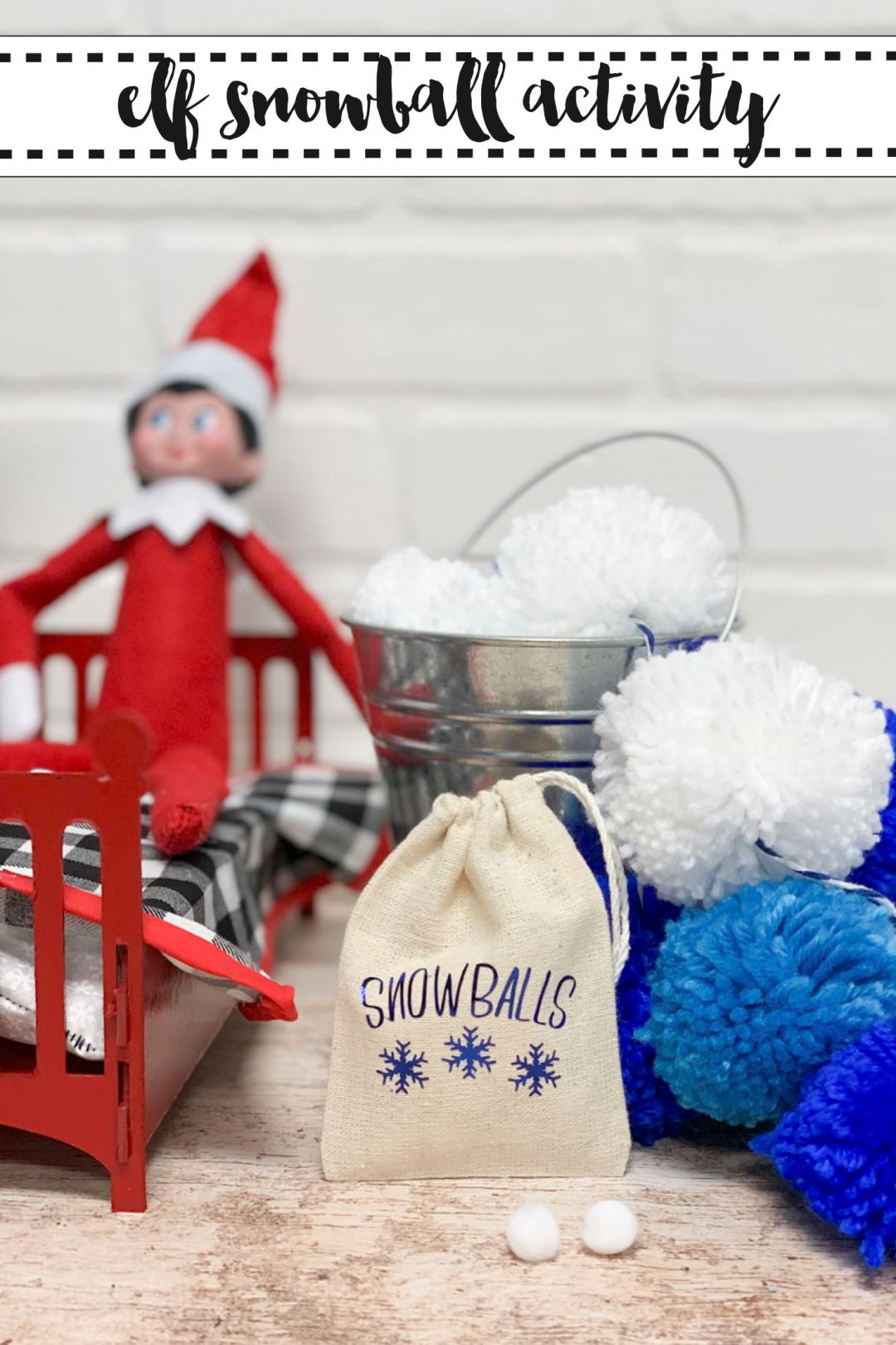 Elf on a Shelf Snow Balls