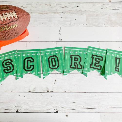 Score Football Banner