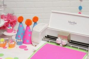 Martha Stewart Cricut Party Hats