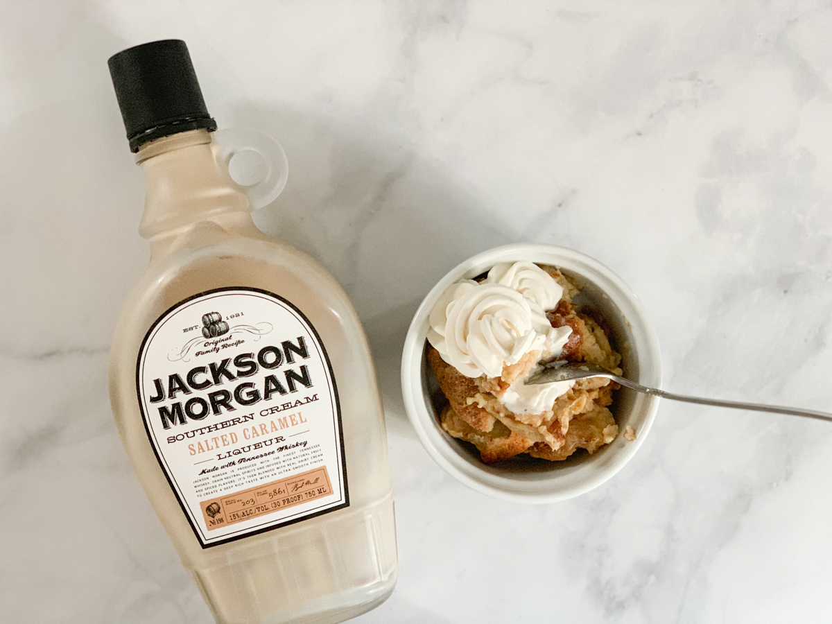 Bread Pudding Jackson Morgan Southern Cream