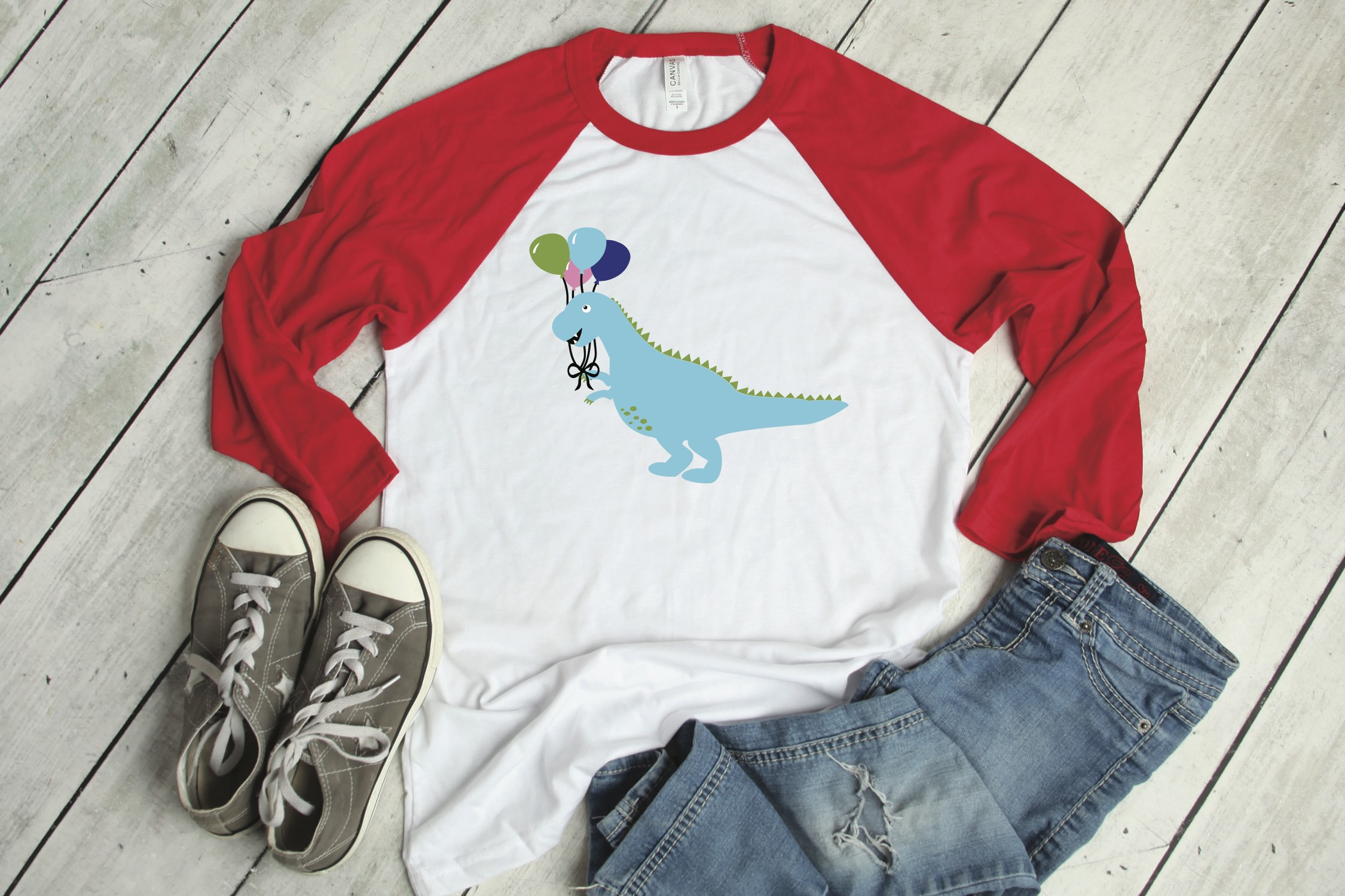 Dinosaur Party Shirt