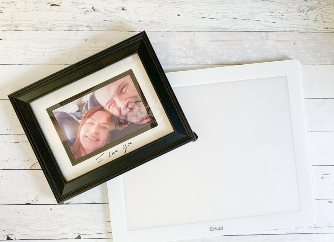 Memory Frame Cricut BrightPad