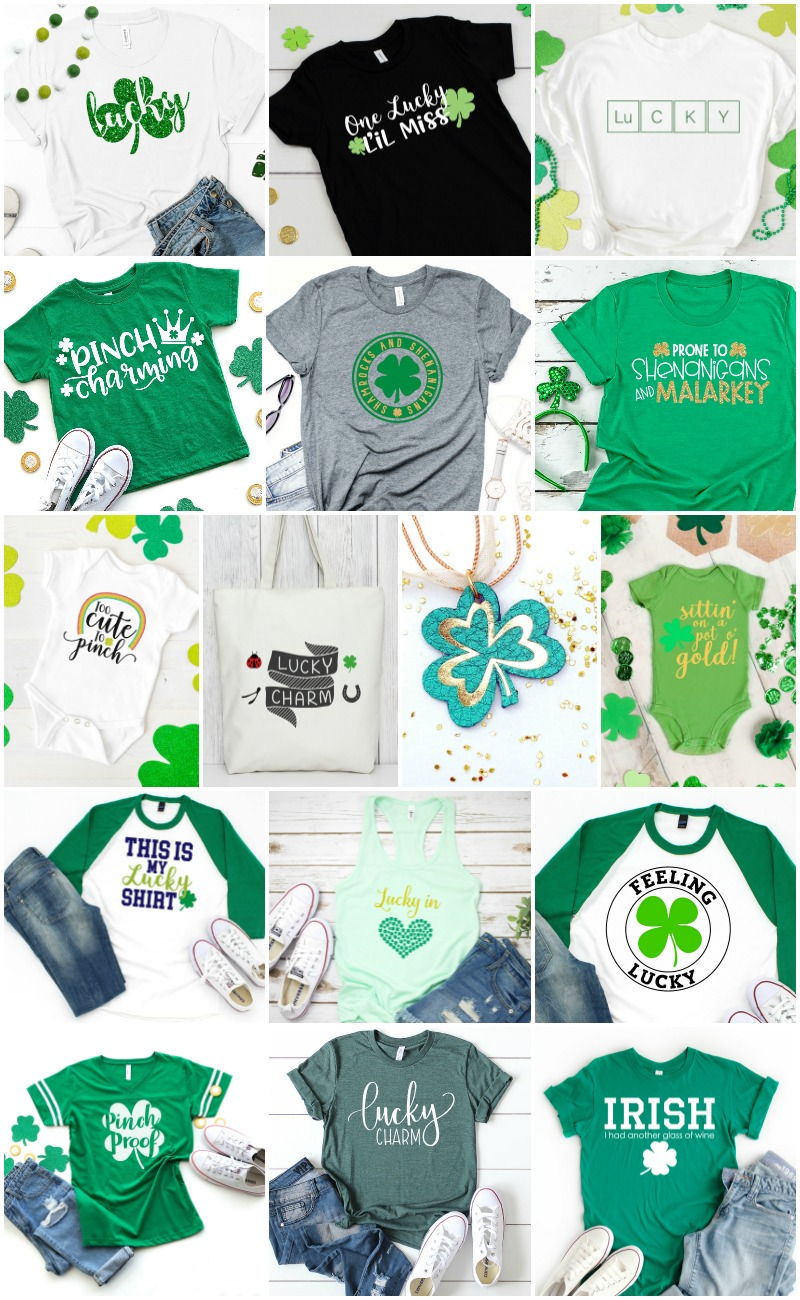 St. Patrick's Day SVG Collage