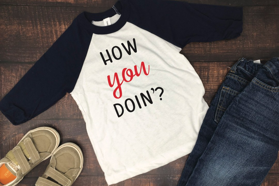 Friends Inspired How You Doin'? Shirt