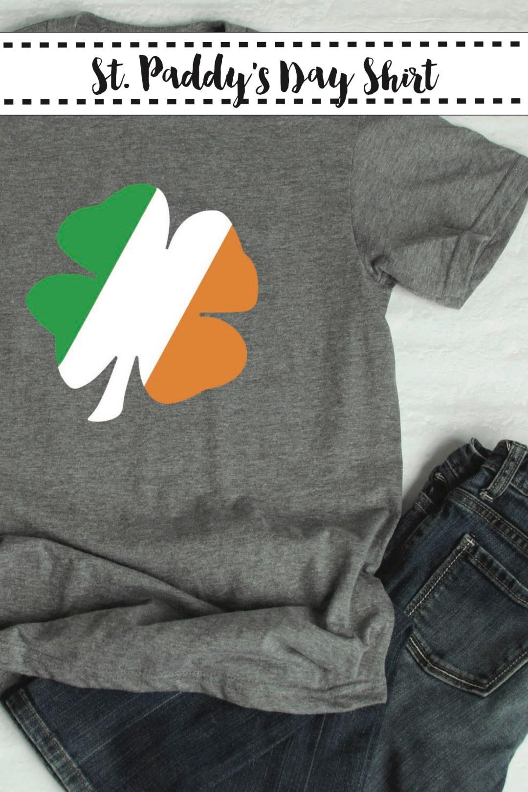 St. Patrick's Day Shamrock Shirt