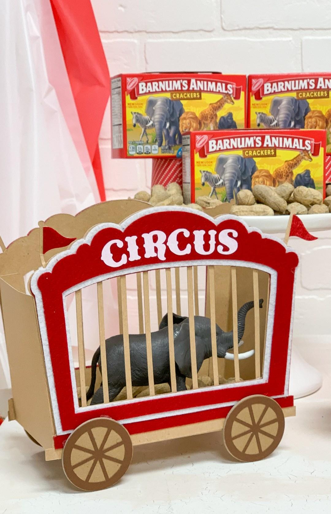 Circus Train Toy Elephant