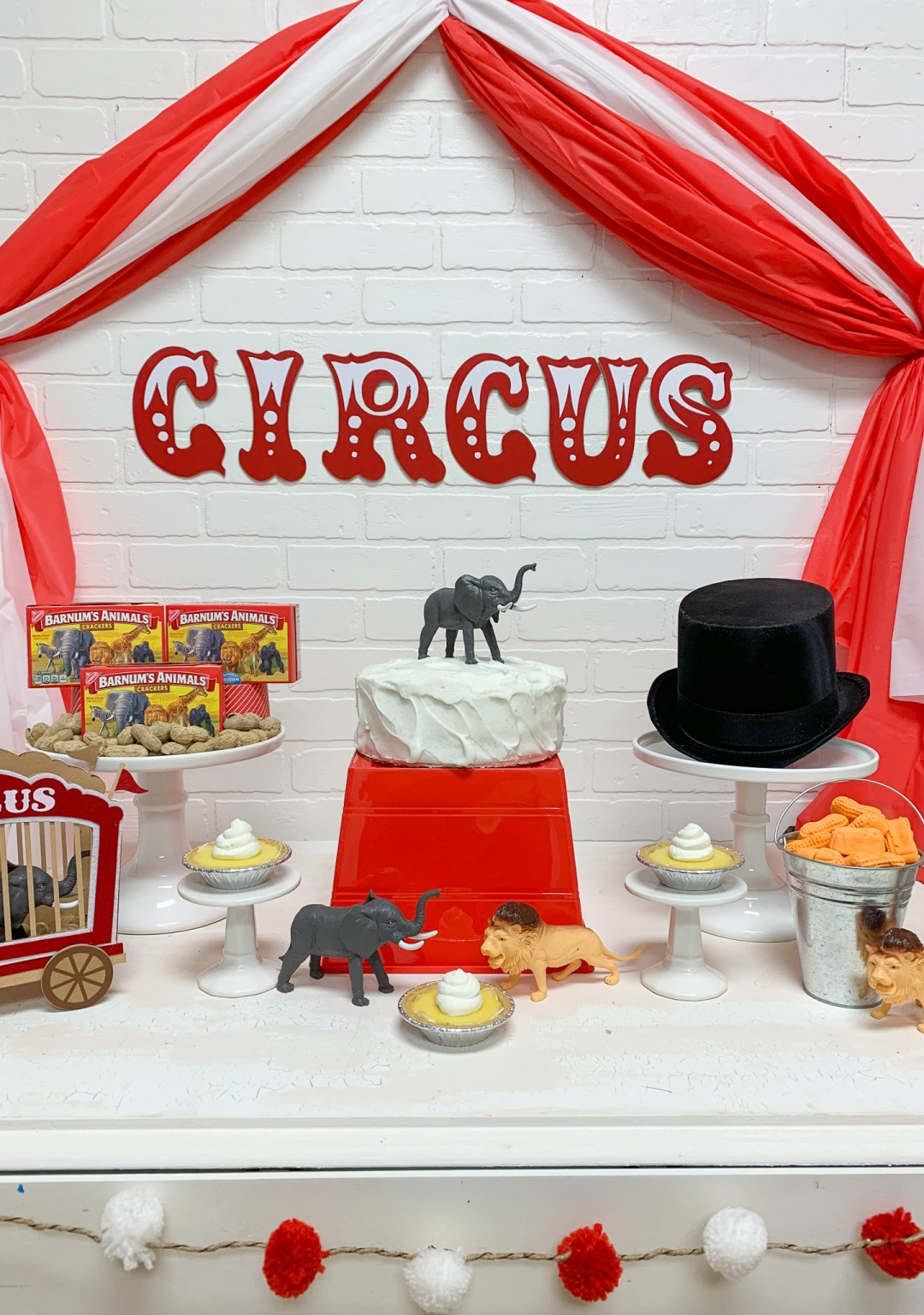 Circus Party Table