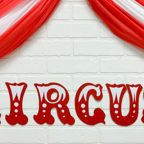 Circus Party Tent DIY