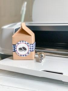 Milk Carton Favor Box Cricut Maker Scoring Wheel