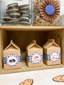 Milk Carton Party Favors Cookies Cookie Jars