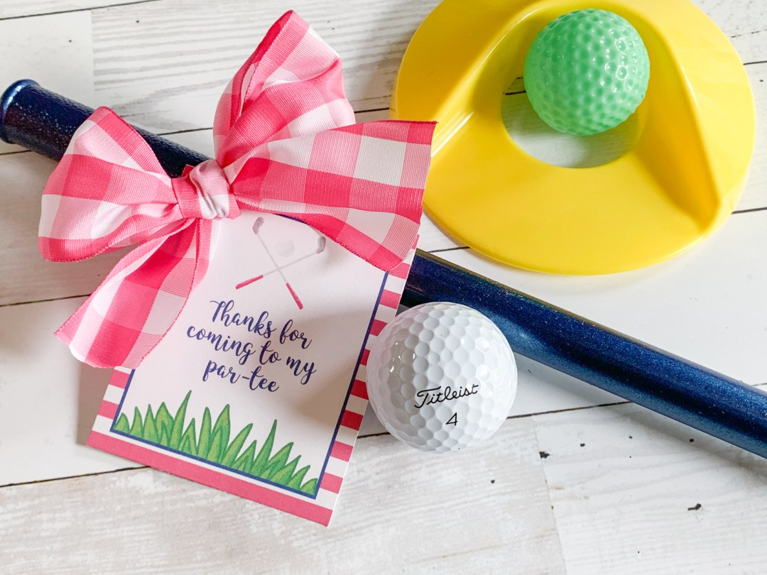 Golf Party Favors
