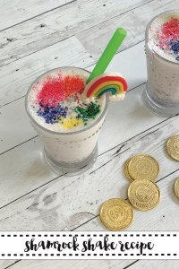 Shamrock Shake Rainbow Candies Gold Coins