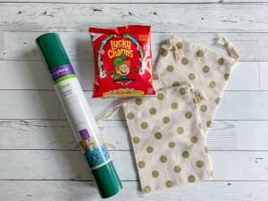 Polka Dot Bags Iron On Lucky Charms