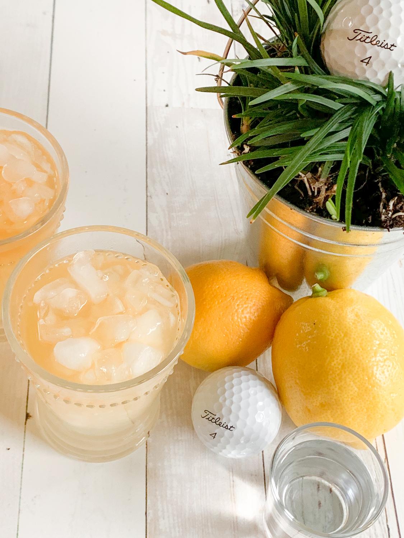 Arnold Palmer Cocktail Lemons Vodka Golf Ball