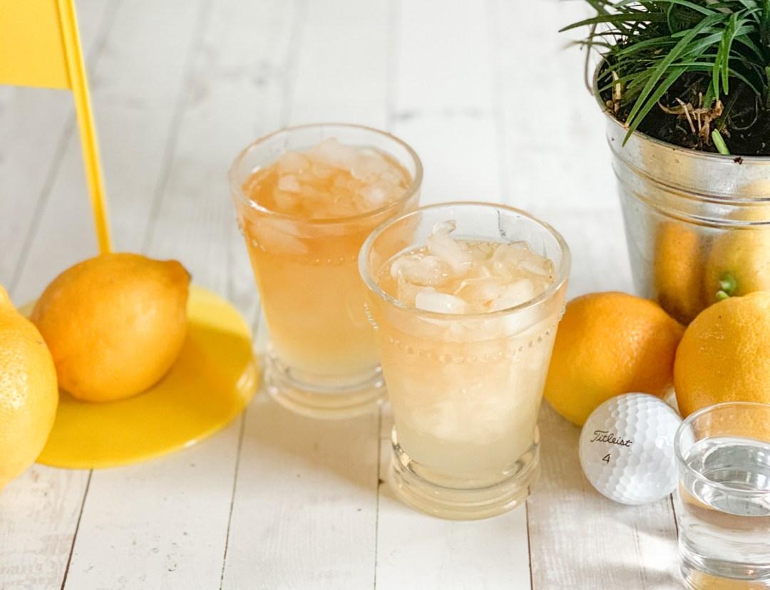 Cocktails Lemons Golf Balls