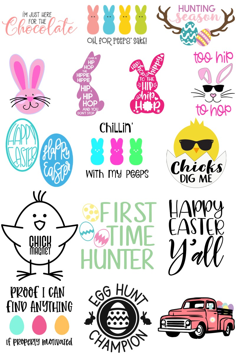 Easter SVG images