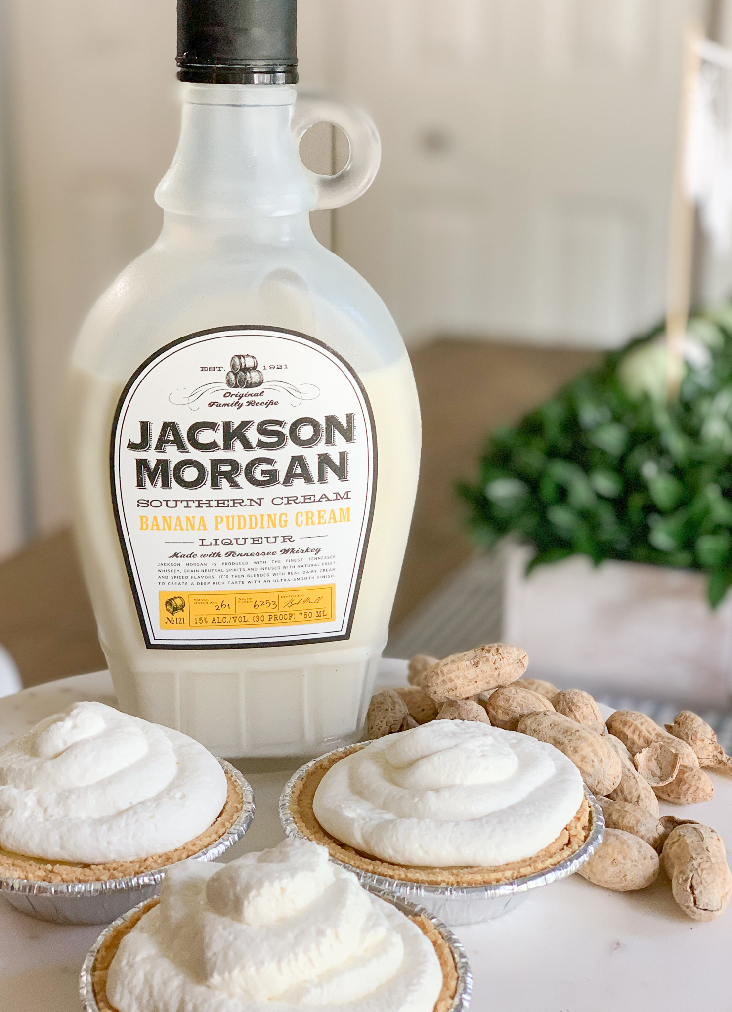 Jackson Morgan Cream Cream Pies Peanuts