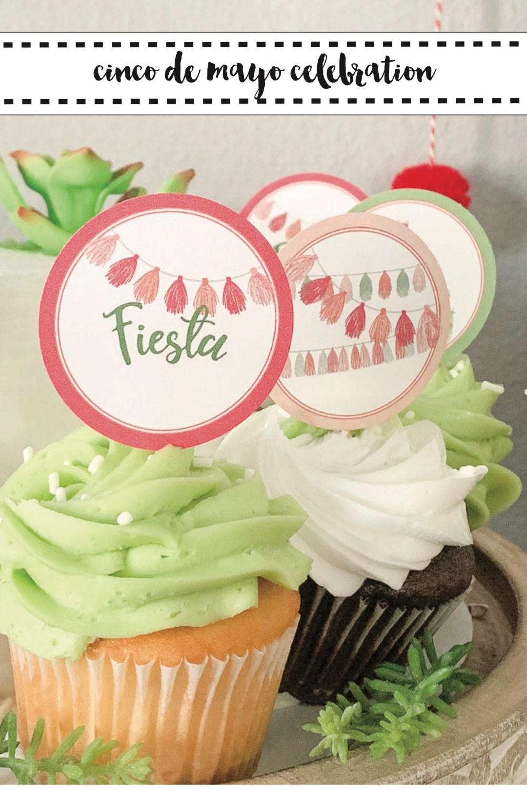 Fiesta Cupcakes Cinco de Mayo Party