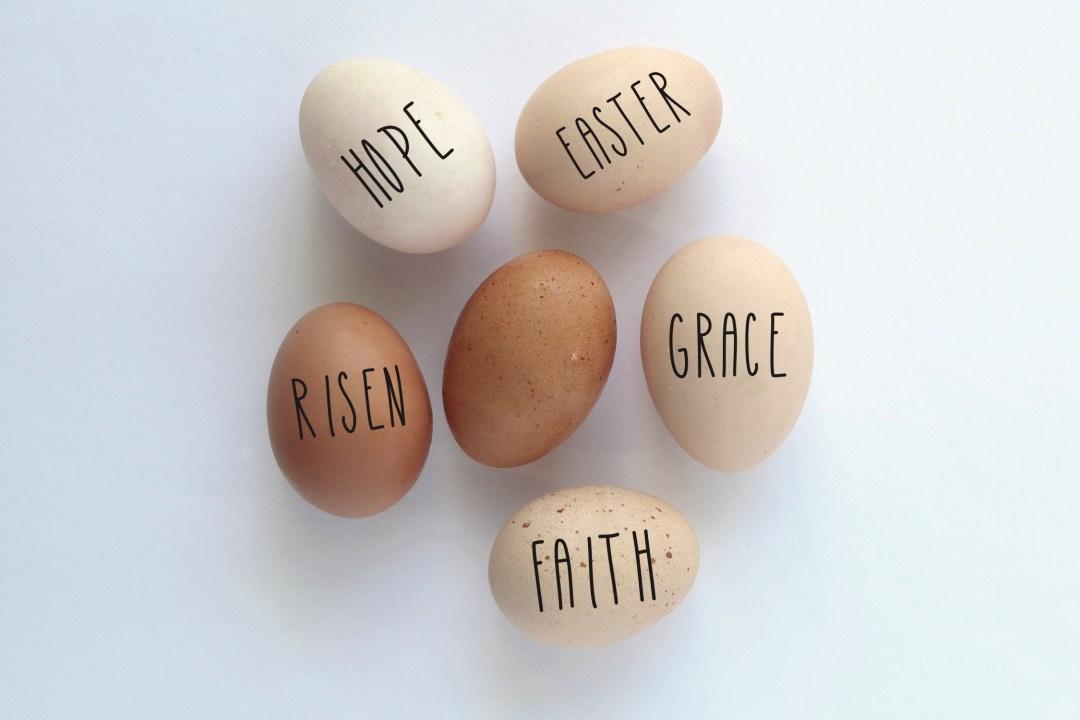 Rae Dunn Farm Fresh Easter Eggs