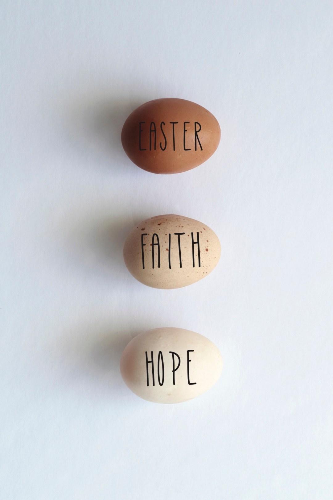 Rae Dunn Easter Eggs