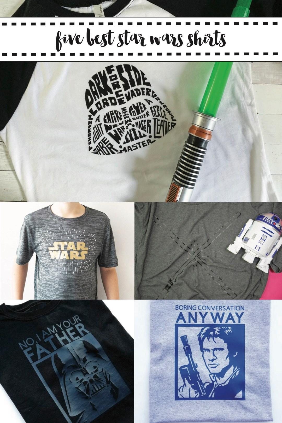 Star Wars Shirt Round Up