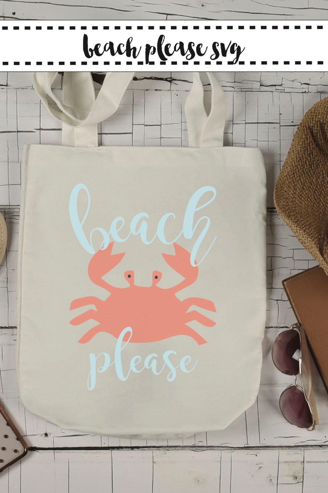 Beach Please Beach Tote