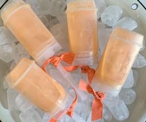 Boozy Orange Cream Popsicles