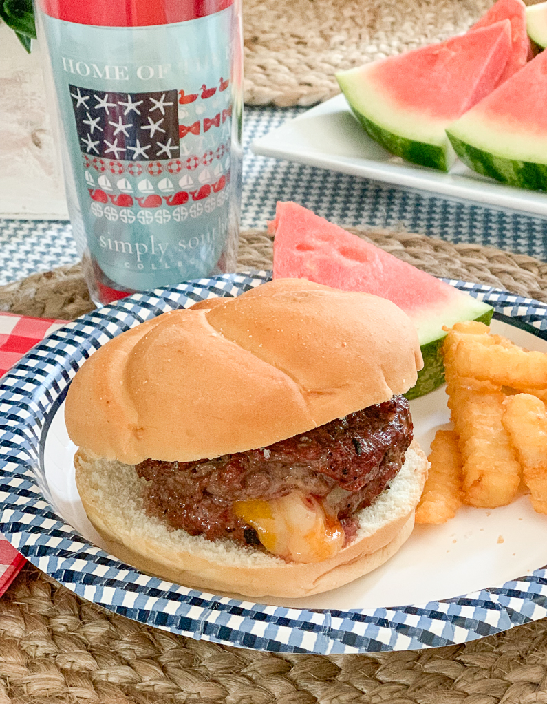Cheese Burger Tervis Watermelon Fries