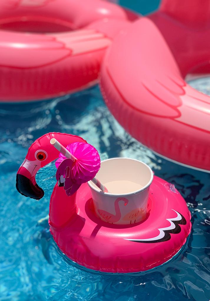 Flamingo Drink Float