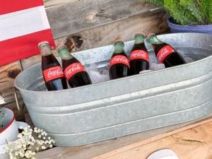 Coca Cola Galvanized Bucket