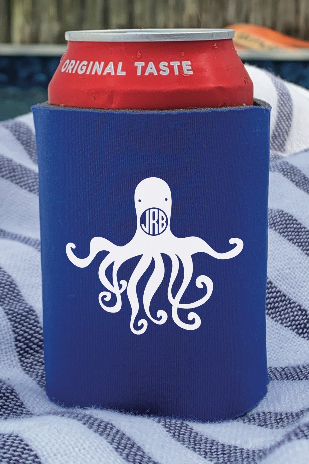 Octopus Can Coozie