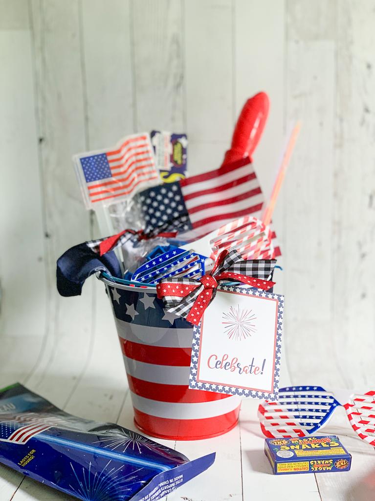 Fourth of July Bucket