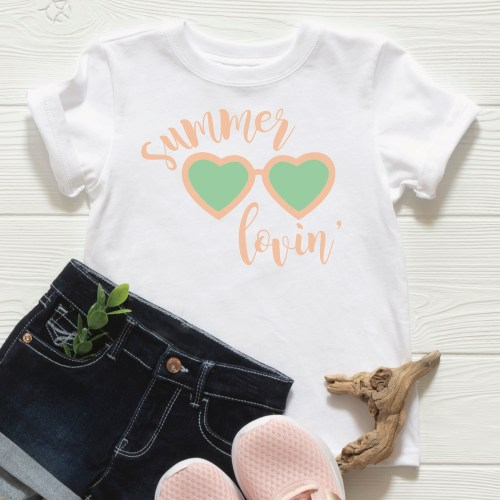 Summer Lovin T Shirt Shorts Sneakers