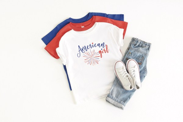 American Girl 4th of July Shirt