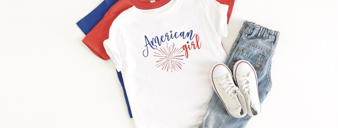 American Girl 4th of July Shirt