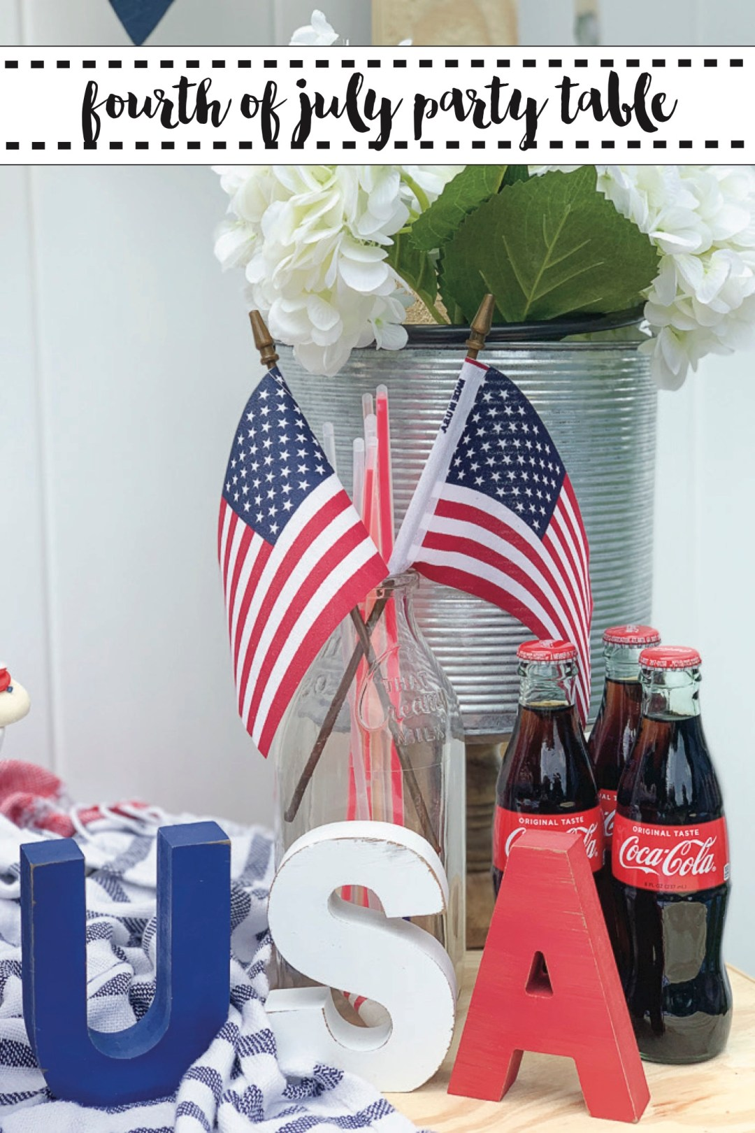 USA Party Table