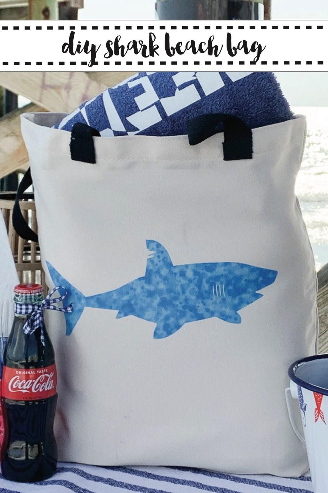 Shark Week Infusible Ink Beach Bag